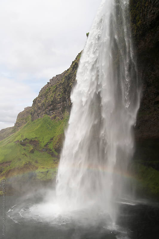 Seljalandsfoss by Anthon Jackson for Stocksy United