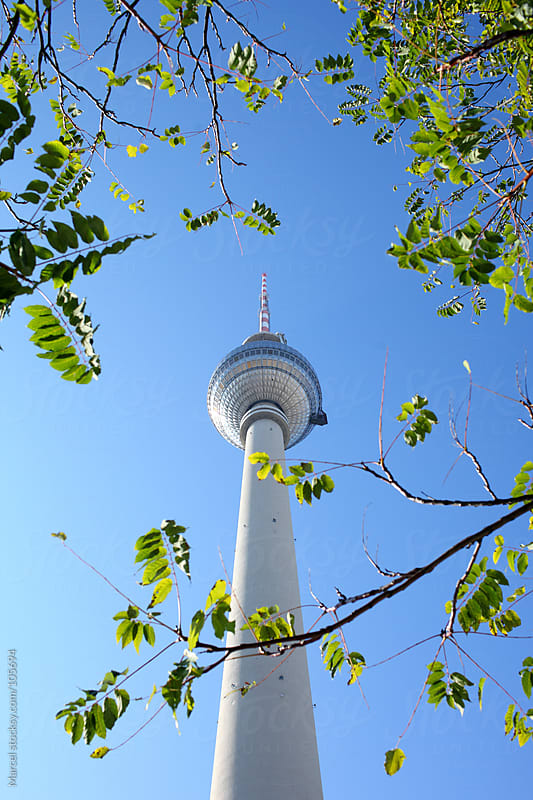 Television tower (Fernsehturm) in Berlin by Marcel for Stocksy United