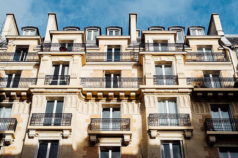 Parisian building by Sam Burton for Stocksy United