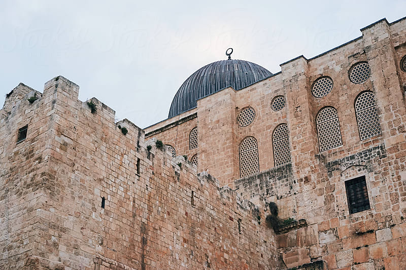 Al-Aqsa Mosque in Jerusalem by B. Harvey for Stocksy United