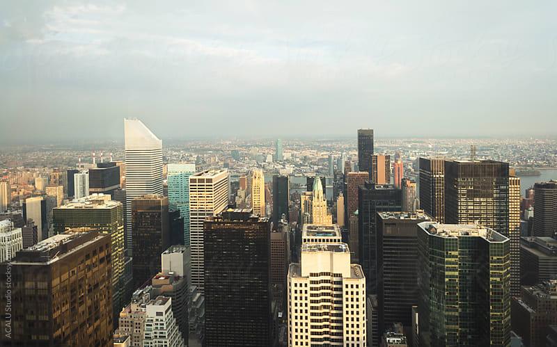 Manhattan horizontal views by ACALU Studio for Stocksy United