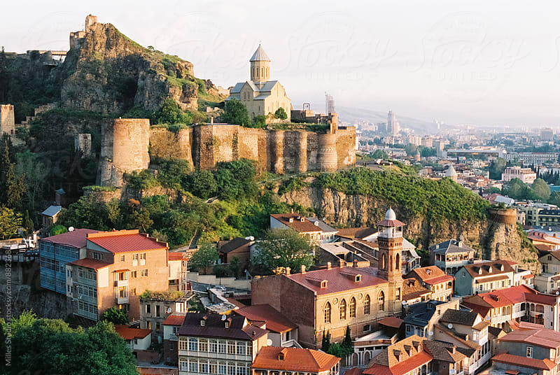 Tbilisi Castle by Milles Studio for Stocksy United