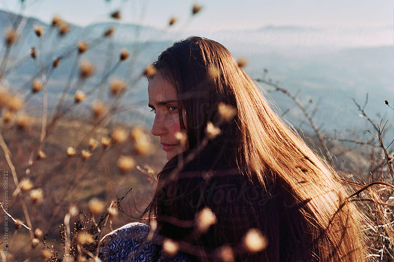Mountain girl by Marija Strajnic for Stocksy United