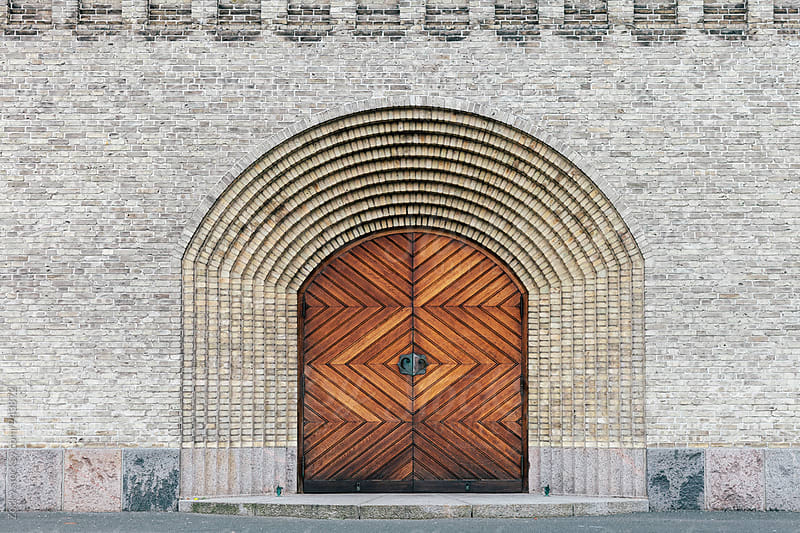 Old church door by Zocky for Stocksy United