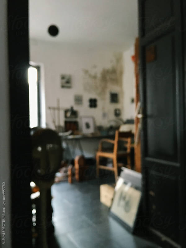 Artist Studio Defocused by VISUALSPECTRUM for Stocksy United