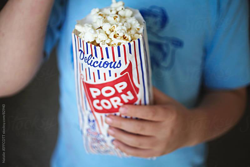 delicious popcorn 1 by Natalie JEFFCOTT for Stocksy United