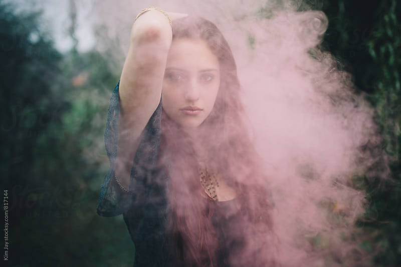 Smoky fall fashion by Kim Jay for Stocksy United