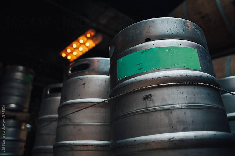 Beer Kegs by L&S Studios for Stocksy United