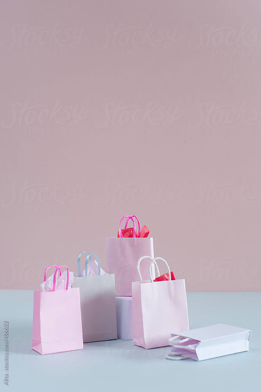 Shopping bags by Alita Ong for Stocksy United