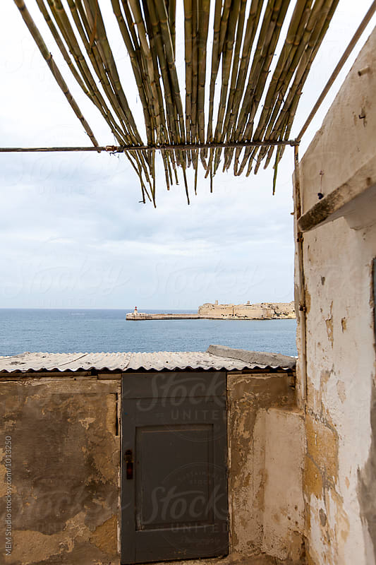 View to the Port of Valletta by MEM Studio for Stocksy United