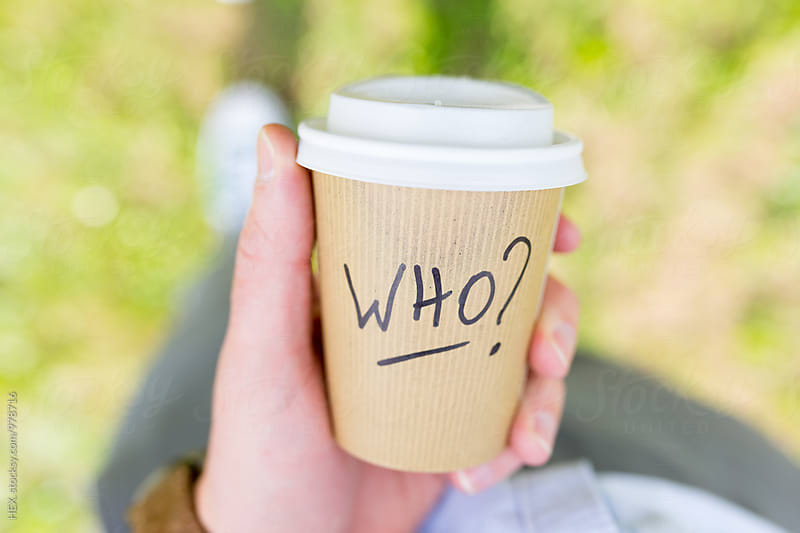 Coffee Cup Take Away with Who Written On by HEX. for Stocksy United