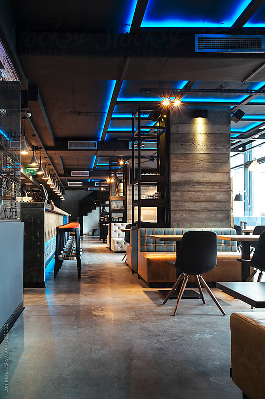 Interior of a Bar by Lumina for Stocksy United