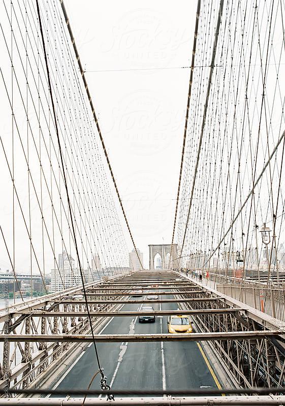 NYC Brooklyn Bridge by Vicki Grafton Photography for Stocksy United