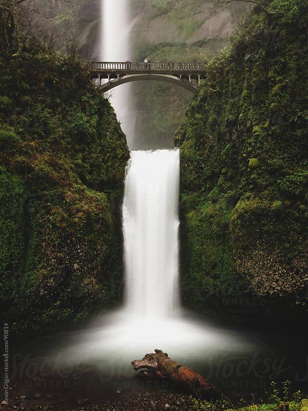 Multnomah Falls by Kevin Gilgan for Stocksy United