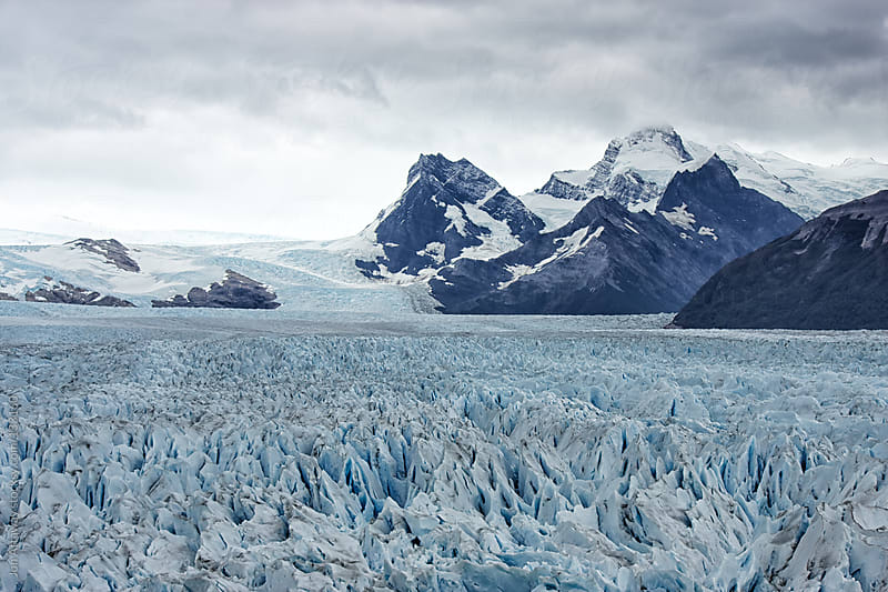 Perito Moreno glacier by Jon Attaway for Stocksy United