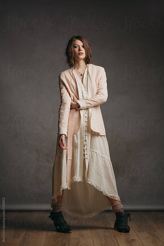 Bohemian woman by Ani Dimi for Stocksy United