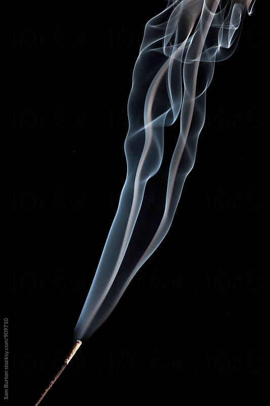 Incense smoke by Sam Burton for Stocksy United
