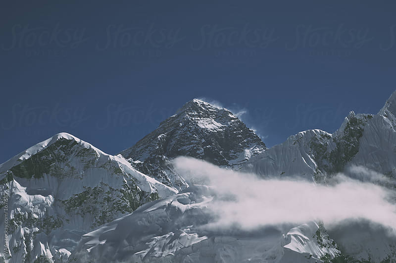 Mount Everest, Himalayas by WAA for Stocksy United