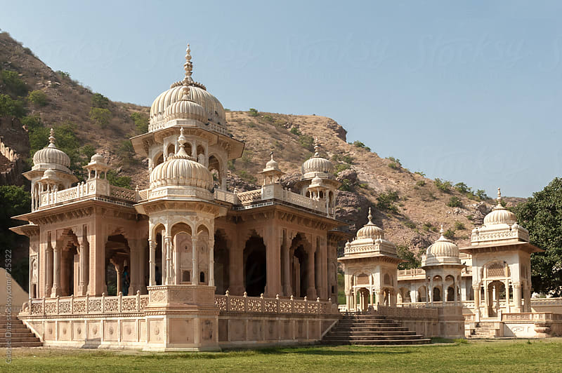 Amber Fort - a historic site in Jaipur, India by Gabriel Diaz for Stocksy United