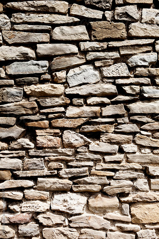 Stone wall by MEM Studio for Stocksy United