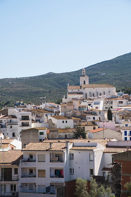 View of Cadaques by Marilar Irastorza for Stocksy United