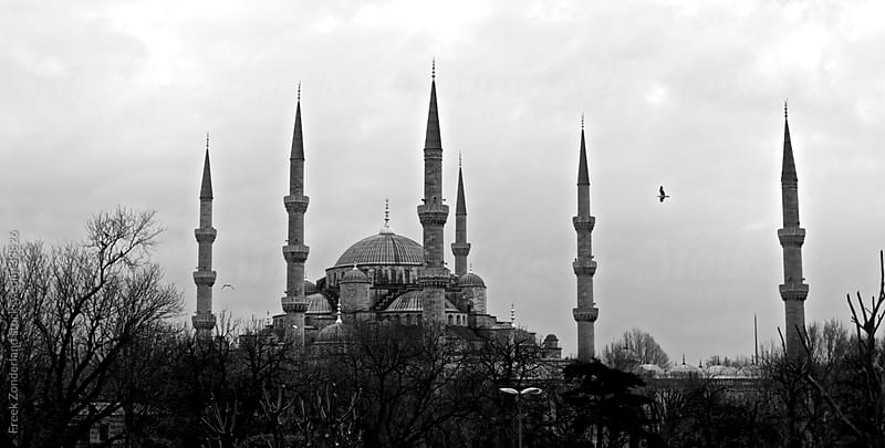 The Blue Mosque in Istanbul  by Freek Zonderland for Stocksy United