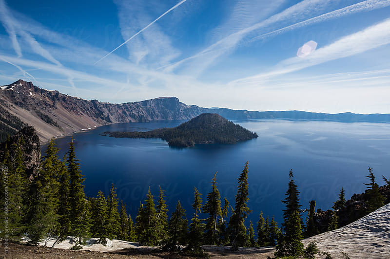 Crater Lake National Park, Oregon by michela ravasio for Stocksy United