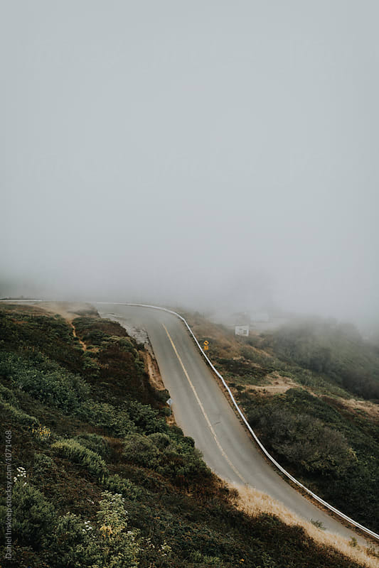 Foggy Twin Peaks Area in San Francisco by Daniel Inskeep for Stocksy United