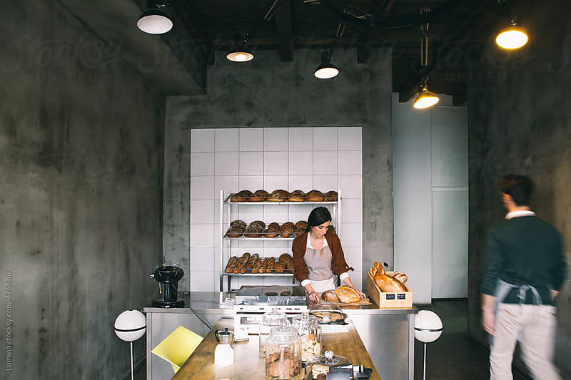 Bakery Employees At Work by Lumina for Stocksy United