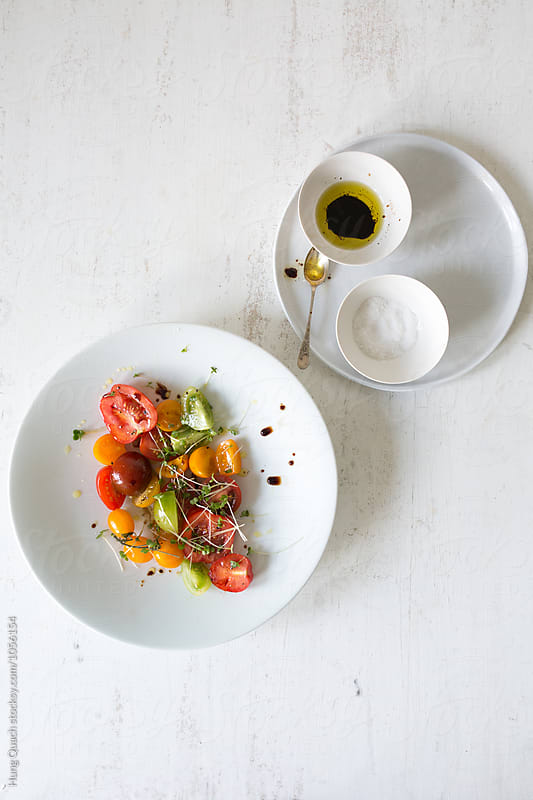Tomato Salad by Hung Quach for Stocksy United