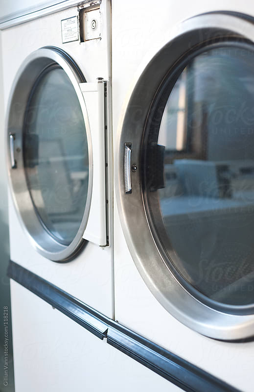 laundromat dryers by Gillian Vann for Stocksy United