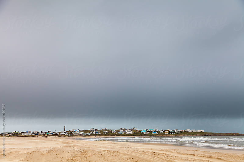 Storm Clouds over Cabo Polonio by Lucas Brentano for Stocksy United