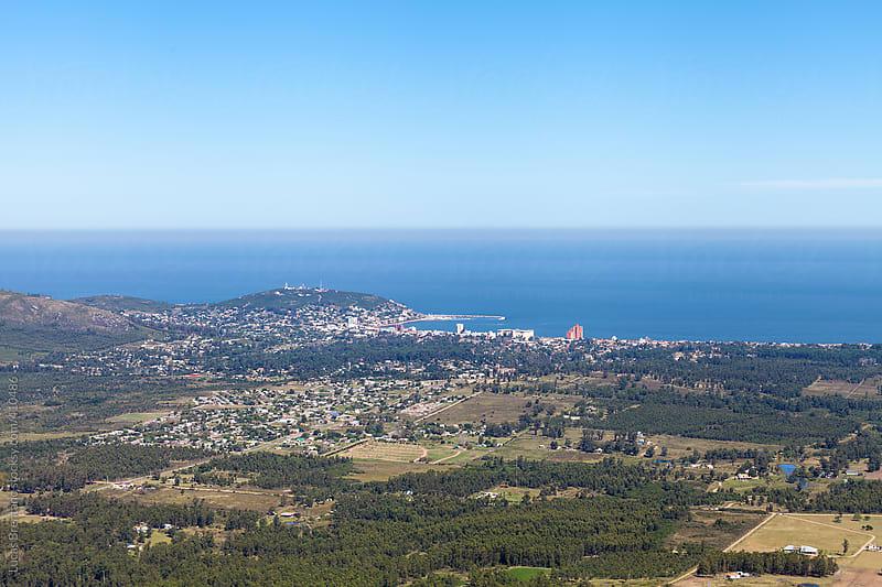 Piriápolis Panoramic View by Lucas Brentano for Stocksy United