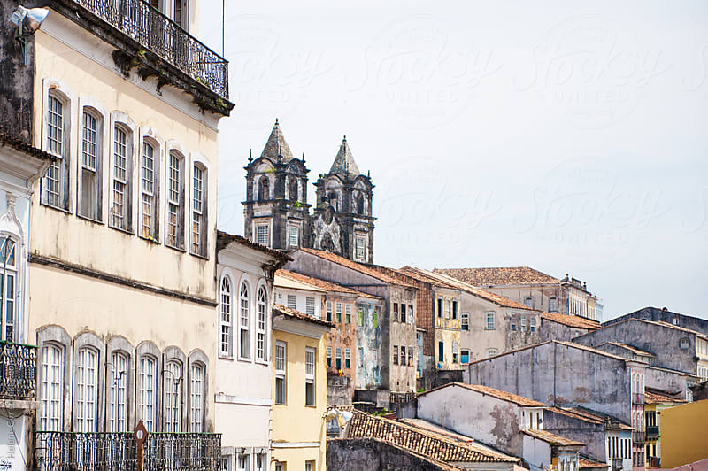 Pelourinho, Salvador, Brazil by Helene Cyr for Stocksy United