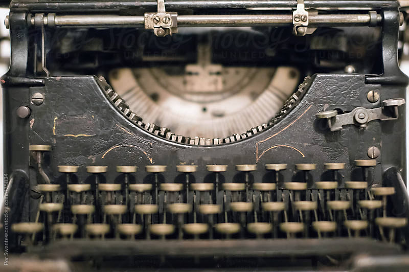 Vintage mechanical typewriter by Per Swantesson for Stocksy United