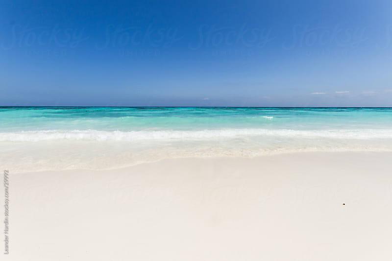 beautiful beach  by Leander Nardin for Stocksy United