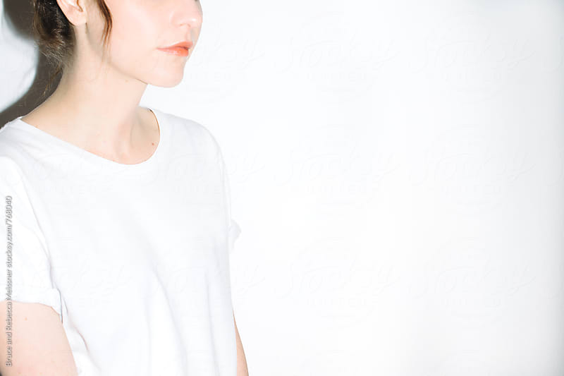 Simple Tee by Bruce and Rebecca Meissner for Stocksy United