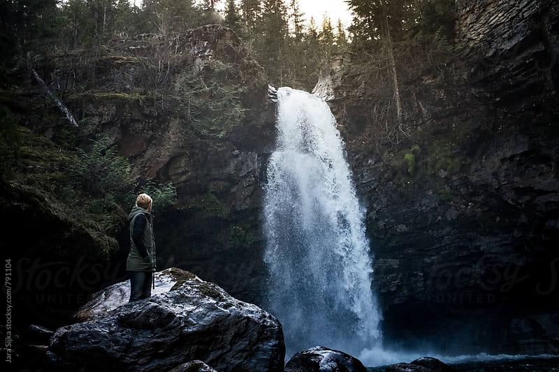Waterfall spirit by Jara Sijka for Stocksy United