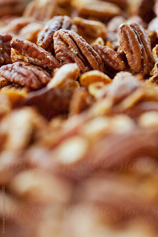 Nuts: Chipotle Spiced Fresh Roasted Pecans by Sean Locke for Stocksy United
