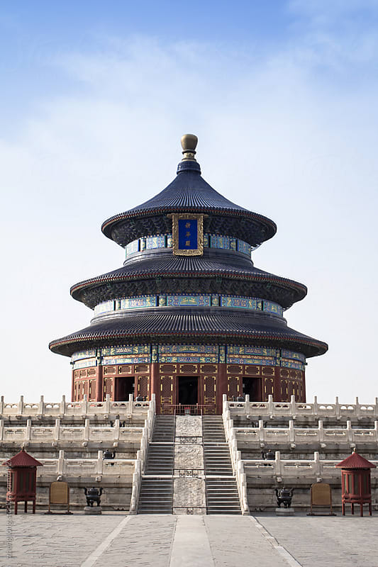 The temple of heaven by zheng long for Stocksy United