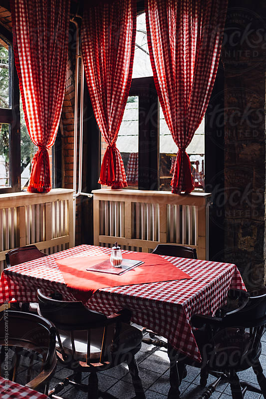 Traditional Interior of Kafana in Balkans by Nemanja Glumac for Stocksy United