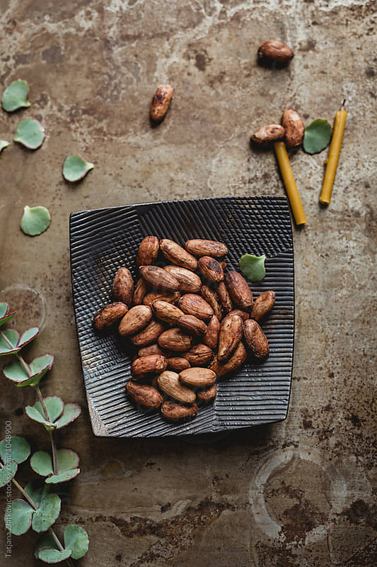 Cacao beans by Tatjana Zlatkovic for Stocksy United