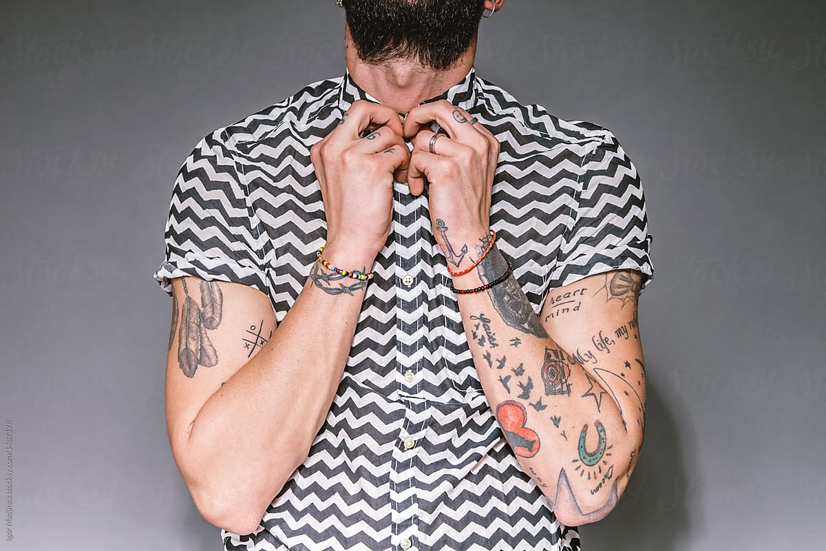 Tattoo,Clothes,Style,Hand,Man | Stocksy United