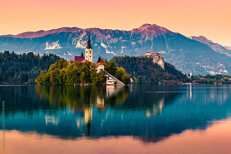 Lake Bled, Slovenia by Tom Uhlenberg for Stocksy United