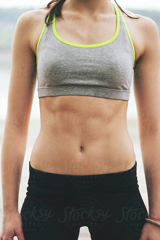 Woman's abs by Jovana Rikalo for Stocksy United