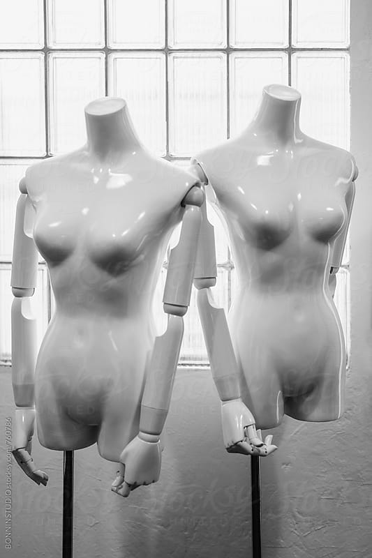 Mannequins in a shop. by BONNINSTUDIO for Stocksy United