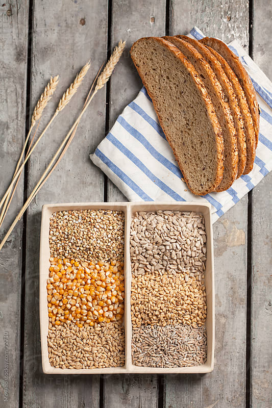 Bread and Grains by Mosuno for Stocksy United