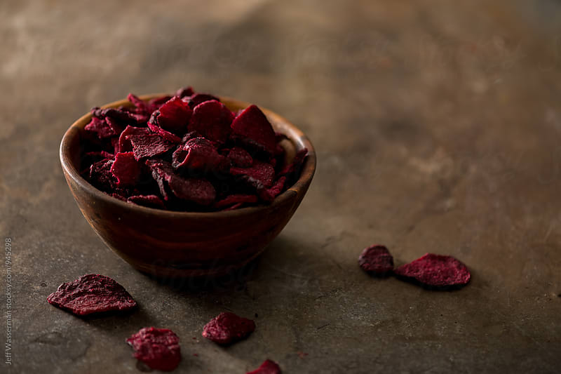 Beetroot Chips by Studio Six for Stocksy United