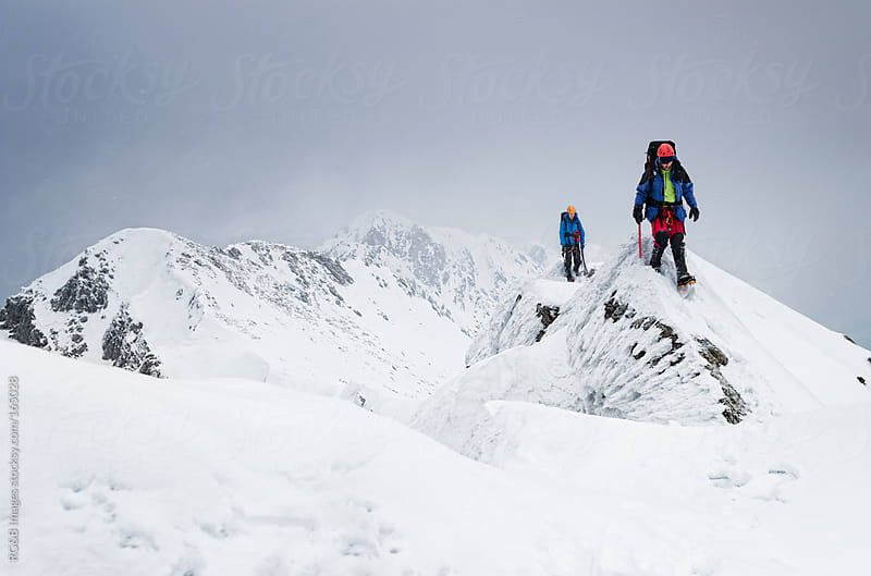 mountaineering  by RG&B Images for Stocksy United