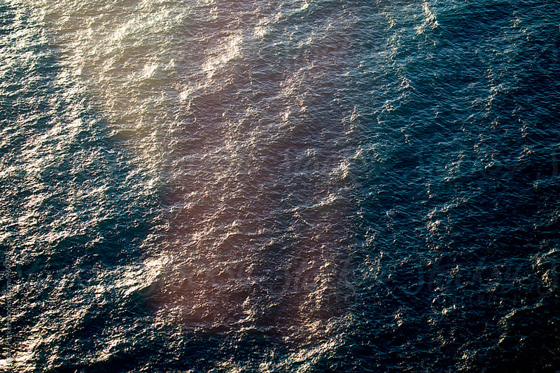 Aerial photograph of the ocean by Gary Parker for Stocksy United